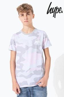 Hype. Pistachio Camo Kids T-Shirt