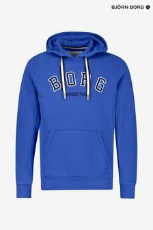 Bjorn Borg Stonewashed Blue Sports Hoody
