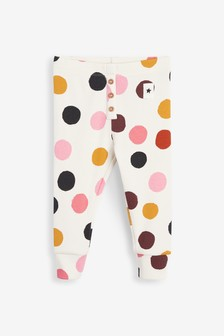 Printed Rib Leggings (3mths-7yrs)
