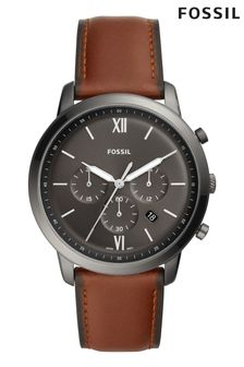Fossil™ Mens Neutra Chronograph Leather Strap Watch