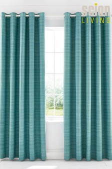 Scion Lintu Birds Lined Eyelet Curtains