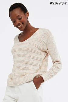 White Stuff Grey Palette Twist Jumper