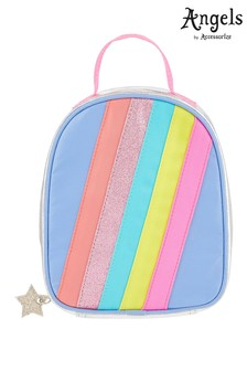Angels by Accessorize Silver Rainbow Lunch Bag