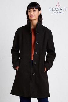 מעיל עם מילוי נוצות של Seasalt דגם Falmouth בשחור