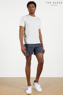 Ted Baker Tempt All Over T Printed Swim Shorts