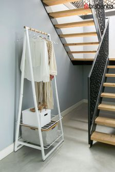 Small Linn Clothes Rail And Storage Unit by Brabantia