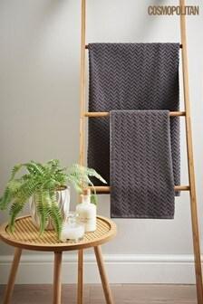 Cosmo Chevron Towel
