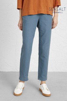 Seasalt Blue Nanterrow Trousers