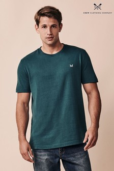 Crew Clothing Company Green Crew Classic T-Shirt