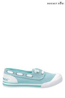 Rocket Dog Green Jazzin Jetty Salty Slip-On Shoes