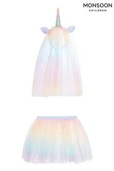 Monsoon Multi Rainbow Brights Unicorn Dress Up
