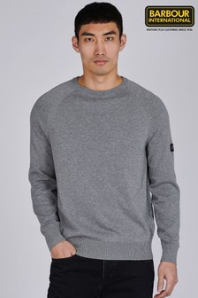 Barbour® International Cotton Crew Neck Sweater