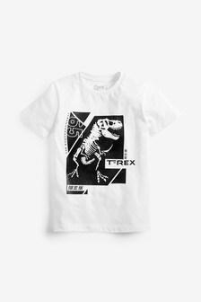 T-Rex Print T-Shirt (3-16yrs)