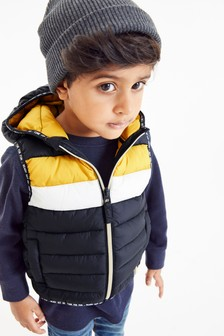 Colourblock Gilet (3mths-7yrs)