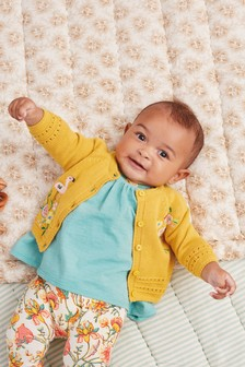 Embroidered Cardigan (0mths-2yrs)