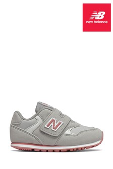 New Balance 393 Velcro Infant Trainers