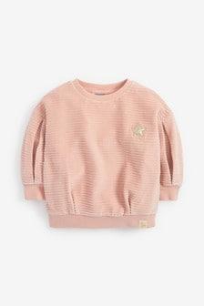 Velour Sweatshirt (3mths-7yrs)