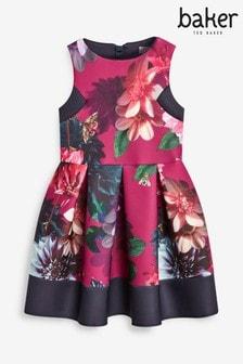 Baker by Ted Baker Floral Scuba Dress