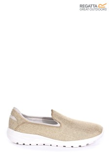 Regatta Cream Lady Marine Slip Pumps