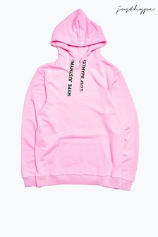 Hype. Plus Pink Drawcord Women's Pullover Hoody