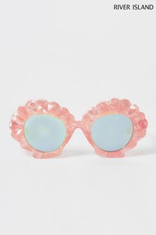 River Island Pink Light Sunglasses