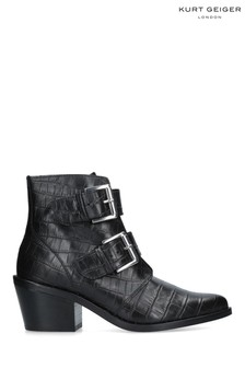 Kurt Geiger London Black Denny Boots