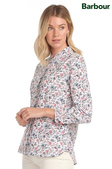 Barbour®/Laura Ashley White Floral Print Yews Shirt