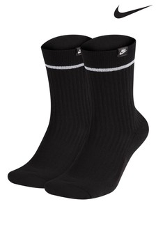 Nike Adults Sneaker Crew Socks Two Pack