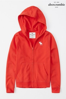 Abercrombie & Fitch Red Hoody
