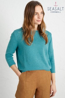 Seasalt Green Lovage Jumper