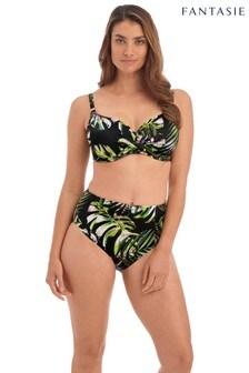 Fantasie Black Palm Valley Under Wire Full Cup Bikini Top