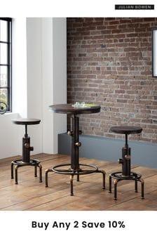 Rockport Pipework Bar Table By Julian Bowen