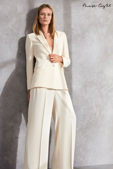 Phase Eight Neutral Cadie Suit Trousers