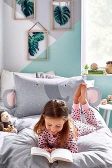 Elephant Duvet Cover and Pillowcase Set