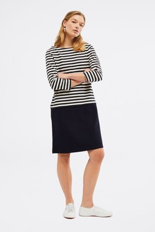 White Stuff Blue Jessica Stripe Dress