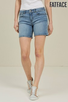 FatFace Blue Denim Shorts