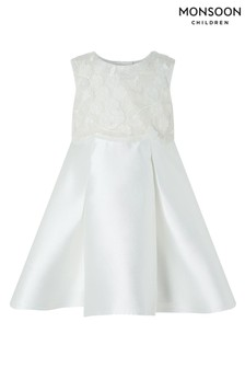 Monsoon Ivory Baby Anika Dress