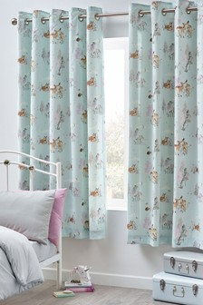 Magical Woodland Eyelet Blackout/Thermal Curtains