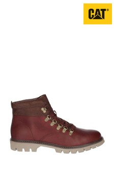 CAT® Lifestyle Brown Crux Lace-Up Boots