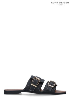 Kurt Geiger London Black Oslo Sandals