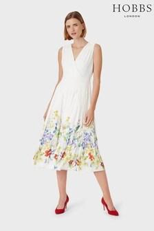 Hobbs White Summer Dress