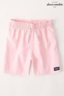Abercrombie & Fitch Pink Swim Shorts