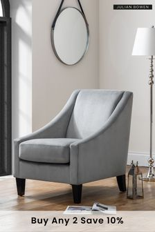 Maison Velvet Chair by Julian Bowen