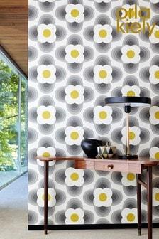 Orla Kiely Striped Petal Wallpaper