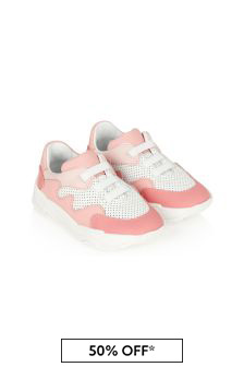 Emporio Armani Girls Pink Trainers