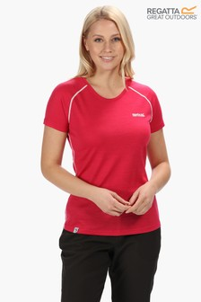 Regatta Pink Womens Tornell T-Shirt