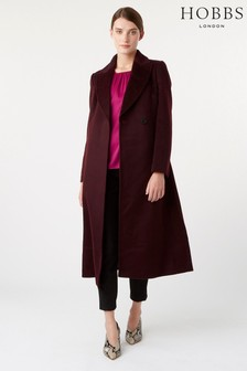 Hobbs Purple Olivia Coat