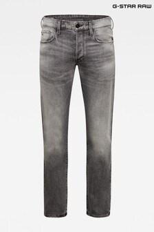 G-Star 3301 Straight Otas Black Stretch Denim Jeans