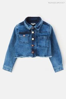 Angel & Rocket Washed Blue Denim Jacket