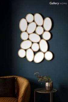 Cobbleston Ovals Mirror by Gallery Direct